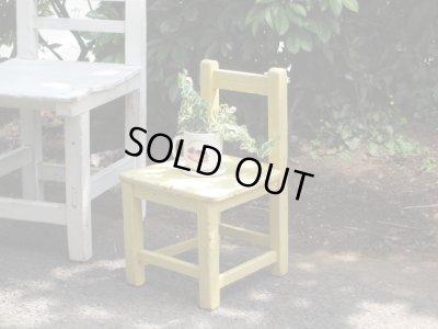 画像5: レトロ 子供椅子