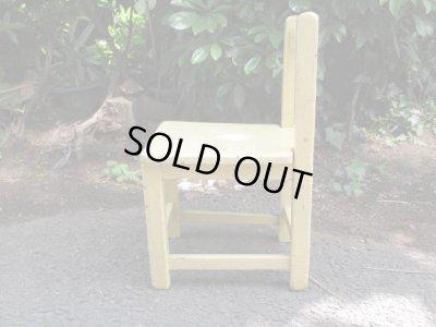 画像2: レトロ 子供椅子