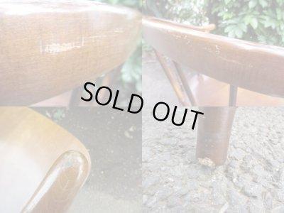画像5: ナラ材 イージーチェア 椅子 アームチェア キツツキ