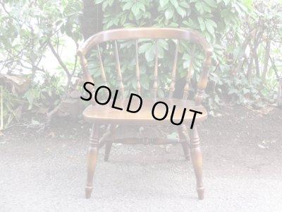 画像2: ナラ材 イージーチェア 椅子 アームチェア キツツキ
