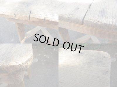 画像5: 古木のスツール(2) 椅子 花台