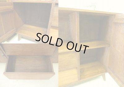 画像3: 北欧デザイン チーク無垢材のサイドボード