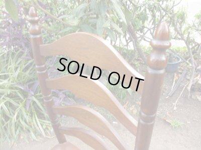 画像3: 古いオーク材の椅子