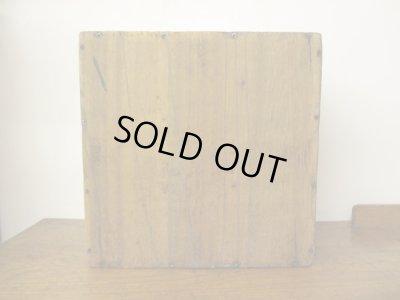 画像5:  レトロ 4つに仕切られた木箱 WOODBOX