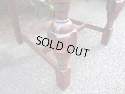 画像3: 古いオーク材チェア 椅子 アンティーク