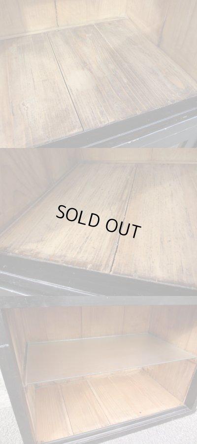 画像5: 昭和レトロ ガラスキャビネット 飾り棚 ショーケース  時代家具