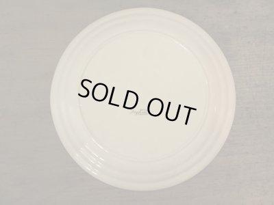 画像2: 古い 乳白色のプレート 皿 東洋陶器