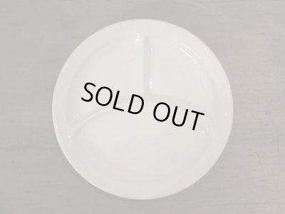画像1: 古い 乳白色のプレート 皿 東洋陶器