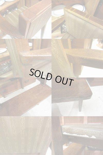 画像4: 昭和レトロ 楢材フレームの子供椅子 チャイルドチェア