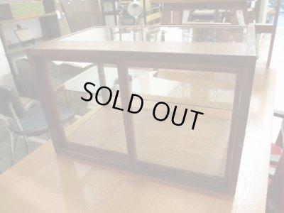 画像3: 昭和レトロ 木製5面ガラスショーケース 飾り棚