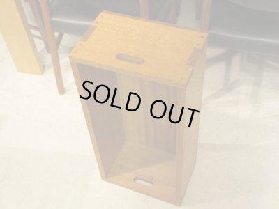 画像2: 木味良い ラワン材の木箱(1) 収納BOX シェルフ