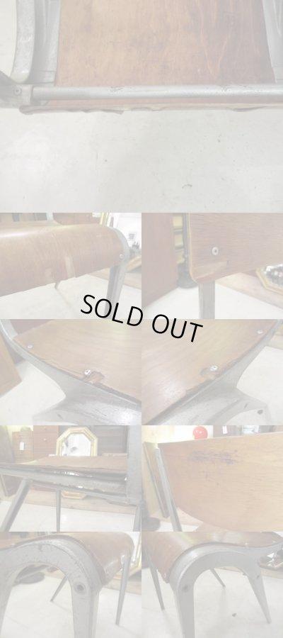 画像5: イギリス製 インダストリアルチェア 椅子 工業系 ジャンク