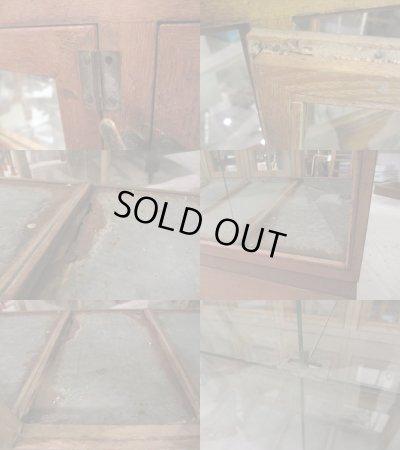 画像5: レトロ 煎餅屋さんのガラス棚 ショーケース アンティーク