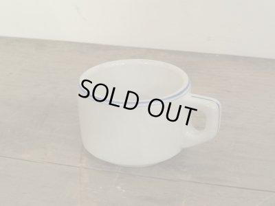 画像2: ドイツで見つけた 青いラインのコーヒーカップ