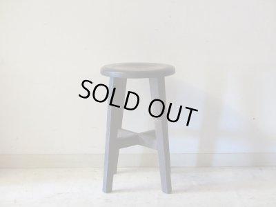 画像2: レトロ 丸椅子 スツール