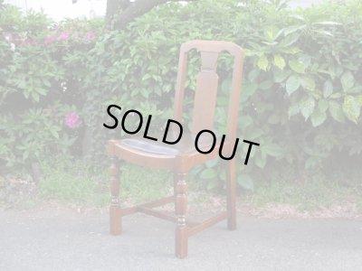 画像1: ヴィンテージ オーク材のダイニングチェア (2) 椅子