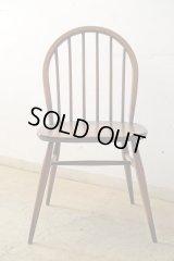 英国ヴィンテージ ERCOL アーコール フープバックチェア 椅子 (2)