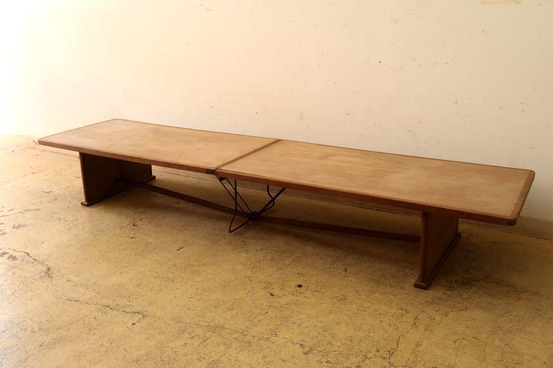 画像1: アンティーク 三越製の折りたたみテーブル