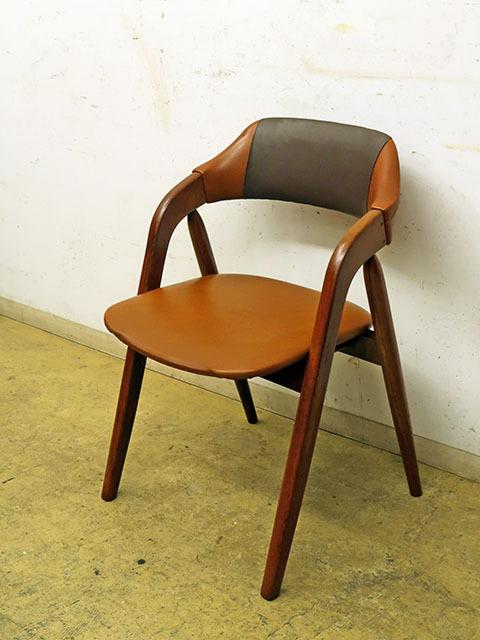 画像1: ヴィンテージ 辻木工 アームチェア 椅子 (1)