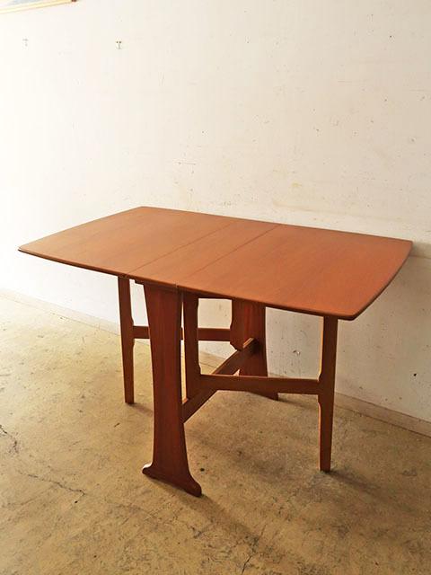 画像1: ヴィンテージ LEGATE ドロップリーフテーブル
