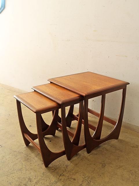 画像1: イギリスヴィンテージ G-PLAN ネストテーブル
